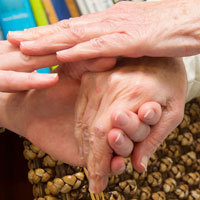Decorative - holding hands