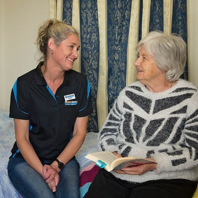 Overnight respite both in the client's home or at one of our respite centres in Bunbury or Leschenault